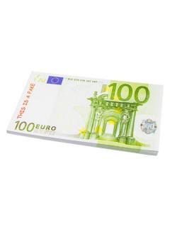 Notizblock 100€-Schein bunt 18,5x10,4cm