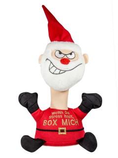 Anti-Stress-Figur Weihnachtsmann mit Sound rot-weiss 23x18x11,5cm