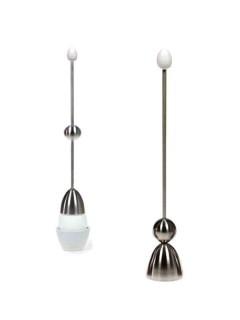 Eier-Sollbruchstellen-Verursacher Küchen-Gadget silber 24cm