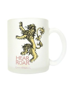 Game of Thrones™-Tasse Hear me roar House Lannister weiss-gelb 320ml