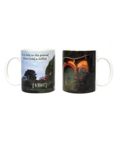 Der Hobbit-Kaffeetasse In a hole in the ground Lizenzprodukt bunt 320ml