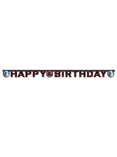 Star Wars Happy Birthday Banner Party-Deko bunt 159cm