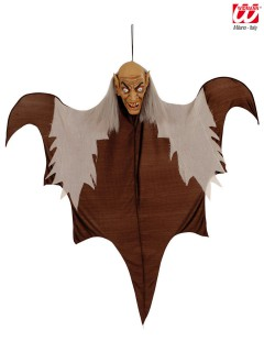 Vampir Halloween-Hängedeko braun-grau 140cm
