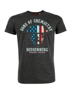 Breaking Bad™-T-Shirt Sons of Chemistry Heisenberg grau-bunt