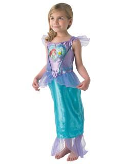 Disney Arielle Meerjungfrau Kinderkostüm Lizenzware flieder-türkis