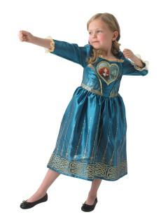 Disney Merida Prinzessin Kinderkostüm Lizenzware blau-gold