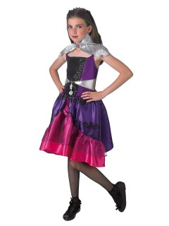 Ever After High Raven Queen Kinderkostüm Deluxe Lizenzware flieder-pink-silber