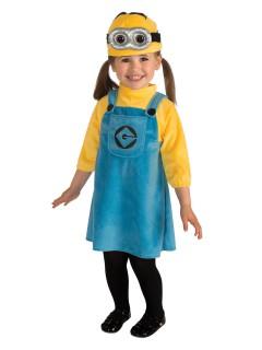 Ich einfach unverbesserlich Minion Kinderkostüm Lizenzware gelb-blau
