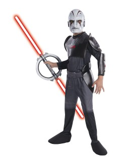 Star Wars Rebels Inquisitor Kinderkostüm Lizenzware grau-weiss