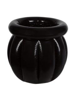 Aufblasbarer Getränkekühler Hexenkessel Halloween Party-Deko schwarz 56x46cm