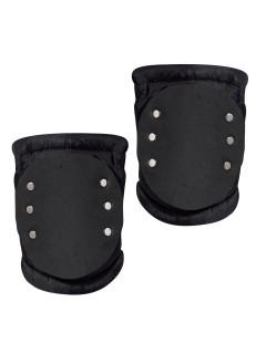 SWAT Knieschoner Knieschützer schwarz-silber