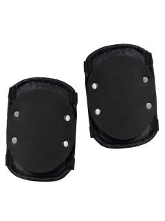 SWAT Ellbogen-Schoner Armschützer schwarz-silber