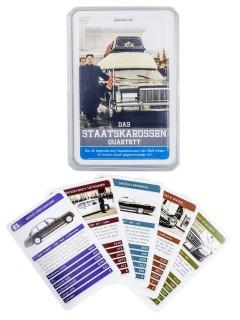 Staatskarossen Quartett Kartenspiel 32-teilig bunt 9x6x2cm
