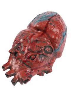 Blutiges Herz Halloween Party-Deko rot 15cm