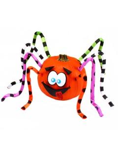 Süsse Kürbis-Spinne Halloween Deko-Set 13-teilig bunt