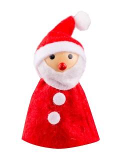 Weihnachtsmann Dekofigur Fingerhut Weihnachten rot-weiss 8x3cm