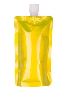 Faltbare Trinkflasche Camping-Gadget gelb 200ml