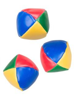 Jonglierbälle Spiel-Set bunt 3 Stück 6,5cm