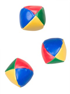 Jonglierbälle Kinder Spiel-Set 3 Stück bunt 5cm