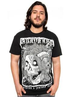 GraveArt-Shirt Athenas Curse T-Shirt schwarz-weiss
