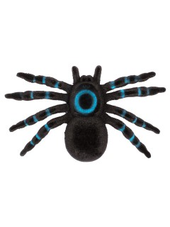 Deko-Spinne Vogelspinne Halloween schwarz-blau 16x10x2cm