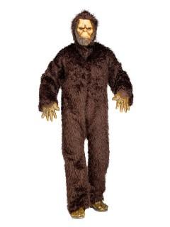 Bigfoot Kostüm Ungeheuer Deluxe braun