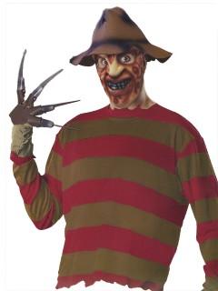 Freddy Krueger Kostüm-Set 4-teilig Lizenzware bunt