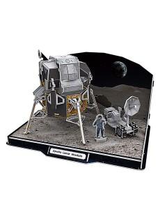 3D-Puzzle Apollo Lunar Module 104-teilig bunt 30x22x3cm