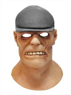 Der Goon Latex-Maske mit Mütze Lizenzartikel hautfarben-grau