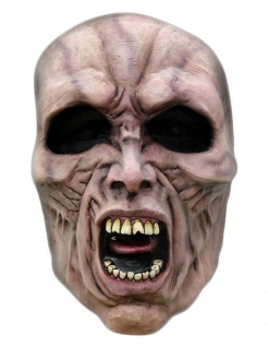 Zombie Latexmaske World War Z™ grau
