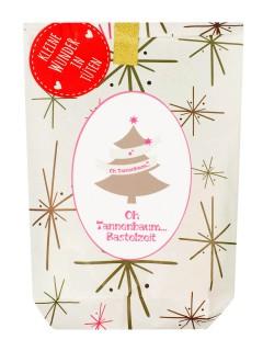 Wundertüte Tannenbaum Weihnachtsbastel-Set 9-teilig bunt
