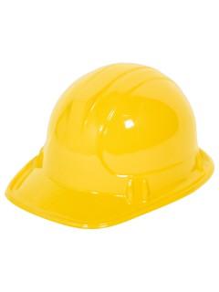 Bauarbeiter-Helm für Kinder gelb