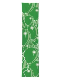 Geburtstags-Banner Luftballons Party-Deko grün 300x60cm