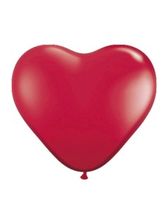 Herz Luftballons Hochzeit Party-Deko 8 Stück rot 30cm