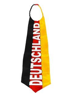 Riesige XXL Deutschland-Krawatte Fussball-Fanartikel schwarz-rot-gelb 100x60cm