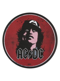 Fußabtreter AC/DC™ Angus Young rot-schwarz 60cm