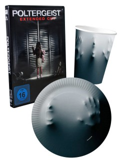 Poltergeist DVD Halloween Party Deko Set 21-teilig bunt (Bundle)