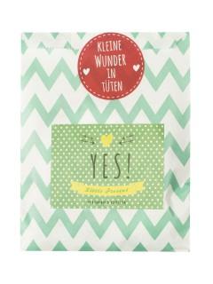 Wündertüte Yes! Little Present Geschenkset Deko-Set 8-teilig bunt 13x16cm