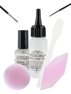 Make-up Zubehör-Set Schmink Zubehör 6-teilig bunt