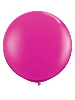 Riesen Luftballon Party-Deko fuchsia 90cm