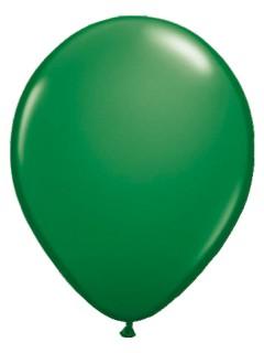 Metallic Luftballons Ballons Party-Deko 50 Stück grün 30cm