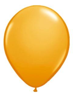 Metallic Luftballons Ballons Party-Deko 50 Stück orange 30cm
