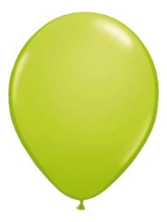 Metallic Luftballons Ballons Party-Deko 50 Stück limonengrün 30cm