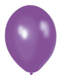Metallic Luftballons Ballons Party-Deko 100 Stück violett 30cm