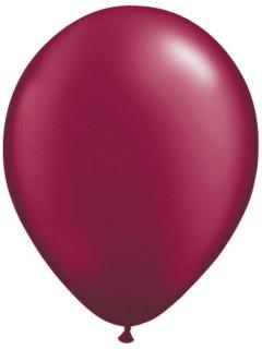 Luftballons Ballons Party-Deko 10 Stück bordeaux 30cm