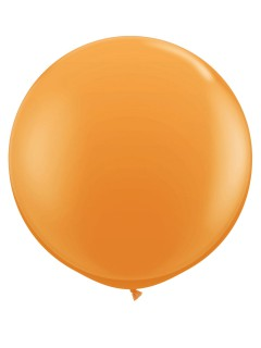 Riesen-Luftballon Ballon Party-Deko orange 90cm
