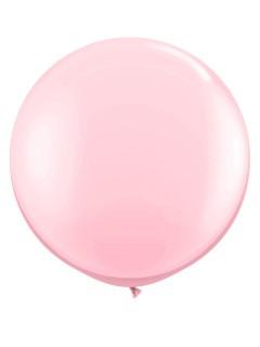 Riesen-Luftballon Ballon Party-Deko rosa 90cm