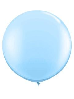 Riesen-Luftballon Ballon Party-Deko hellblau 90cm