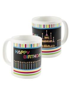 Magische Tasse Geburtstag bunt 300ml