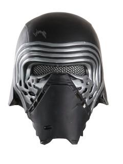 Star Wars Kylo Ren Kinder-Halbmaske Lizenzartikel Helm schwarz-silber